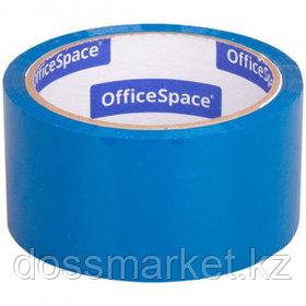 Упаковочная клейкая лента OfficeSpace, ширина ленты 48 мм, длина намотки 40 м, синяя
