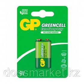 Батарейки GP Greencell крона 1604G UE1, 9V, 1 шт., цена за штуку