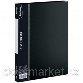 """Папка Berlingo """"Standard"""" с зажимом, А4 формат, корешок 17 мм, черная"""