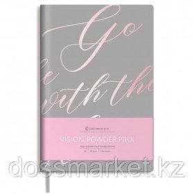 """Записная книжка Greenwich Line """"Vision. Powder pink"""", А5, 80 листов. в клетку"""