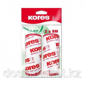 Сменный ролик для одежды Kores, 2 штуки в комплекте по 50 листов