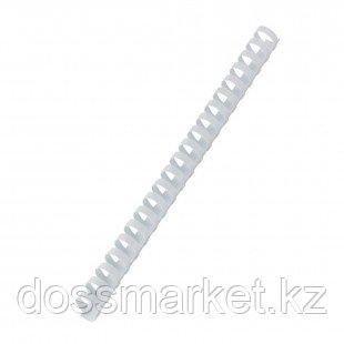 22 мм. Белые пружины для переплета, для сшивания 150-170 листов