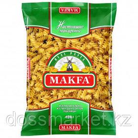 Макароны Makfa, спирали, 400 гр