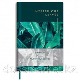 "Записная книжка Greenwich Line ""Vision. Mysterious leaves"", А5, 80 листов. в клетку"