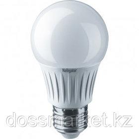 Лампа светодиодная Navigator NLL-A, 7 Вт, 4000К, нейтральный белый свет, E27, форма груша