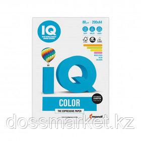 Бумага IQ Color Neon, А4, 80 г/м2, 200 листов, 4 цвета