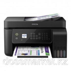 МФУ струйное цветное Epson L5190, А4, 5760*1440, 33 стр/мин, факс, без кабеля USB, Wi-Fi