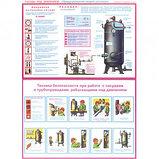 """Плакат по ТБ """"Сосуды под давлением"""", размер 400*600 мм, комплект из 3-х плакатов, фото 2"""