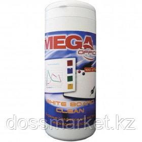 """Салфетки для чистки белых маркерных досок Attache Selection """"Promega office"""", вискоза, 100 шт/туба"""