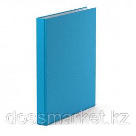 """Папка Erich Krause """"Neon"""", А4 формат, на 4 кольцах, корешок 35 мм, голубая"""