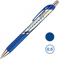 Ручка гелевая автоматическая Attache Selection Galaxy, 0,5 мм, синяя, цена за штуку
