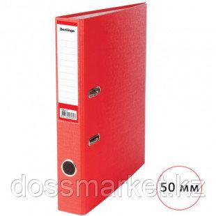 Папка-регистратор Berlingo, А4, ширина корешка 50 мм, красная