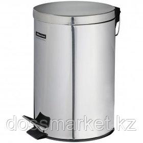 Ведро-контейнер для мусора OfficeClean Professional, 5 л, нержавеющая сталь