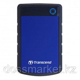 Жесткий диск 2 TB, Transcend ''StoreJet 25H3B'', USB 3.0, HDD, синий