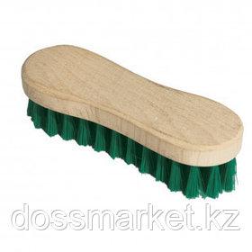 Щетка для одежды/обуви York, деревянная, жесткая, 15,5 см, щетина 2,5 см