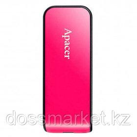 "USB-флешка 32 Gb, Apacer ""AH334"", USB 2.0, розовая"