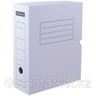 Архивный короб OfficeSpace, 150*250*320 мм, вместимость 1400 листов, микрогофрокартон, белый