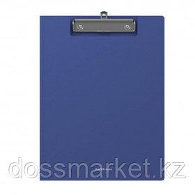 """Папка-планшет Erich Krause """"Classic"""", А4, с верхним прижимом и крышкой, синий"""