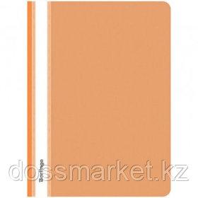 Папка-скоросшиватель Berlingo, А4 формат, 180 мкм, оранжевая