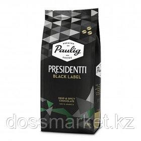 "Кофе в зернах Paulig ""Presidentti Black"", темная обжарка, 250 гр"