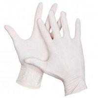 Перчатки латексные, неопудренные, нестерильные, текстурированные пальцы, размер L, 100 шт/упак