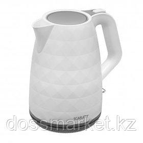 Электрический чайник Scarlett SC-EK18P49, 1,7 л, белый с серым