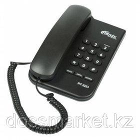 """Телефон проводной Ritmix """"RT-320"""", черный"""
