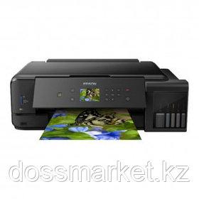 МФУ струйное цветное Epson L7180, А3, 5760*1440, 28 стр/мин, без кабеля USB, без АПД, Wi-Fi
