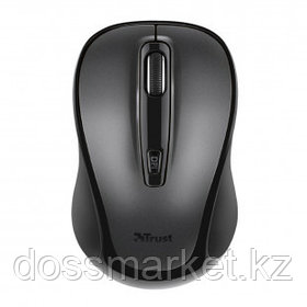 Мышь беспроводная Trust Siero Silent, USB, 4 кнопки, 1000-2400 dpi, оптическая, комбинированная