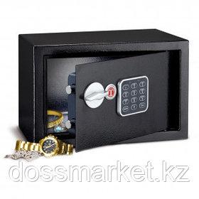 Сейф Техномакс MINI SAFE M20E, электронный, 200*310*200 мм, 5 кг, черный
