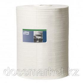 Нетканый материал для интенсивной очистки Tork, 1-слойный, белый