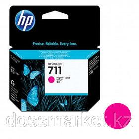 Картридж оригинальный HP CZ131A №711 для DesignJet T120/T520, пурпурный