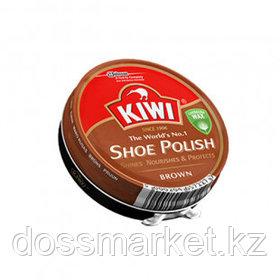 Крем для обуви Kiwi, в банке, коричневый