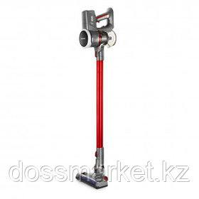 Пылесос вертикальный Kitfort КТ-541-2 (2 в 1), 120 Вт, 0,8 л, красный