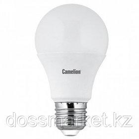 Лампа светодиодная Camelion LED11-A60/865/E27, 11 Вт, 6500К, холодный белый свет, E27, форма груша