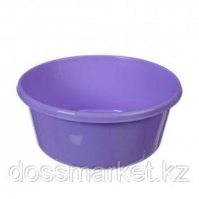 Таз круглый без крышки Idea, 14 литров, лиловый