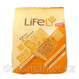 Крекер LifeLY, со злаками, 180 гр