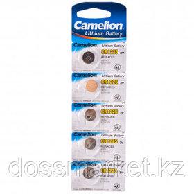 Батарейки Camelion Lithium дисковые CR1225-BP5, 3V, 5 шт., цена за упаковку