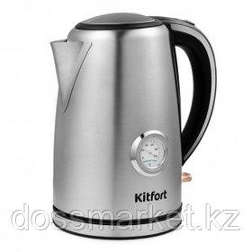 Электрический чайник Kitfort KT-676, 1,7 л, металл