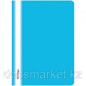 Папка-скоросшиватель Berlingo, А4 формат, 180 мкм, синяя