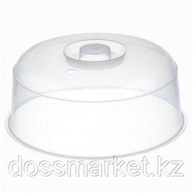Крышка для СВЧ Idea, размер 250*110 мм, пластик, прозрачный