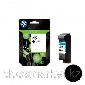 Картридж оригинальный HP 51645AE №45 для Color Copier\DeskJet\OfficeJet\PhotoSmart, черный