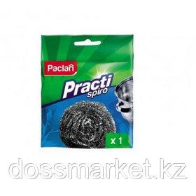 """Губка металлическая для мытья посуды Paclan Practi """"Spiro"""", сетчатая"""