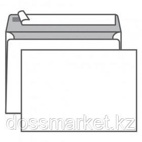 Конверт горизонтальный, формат С5 (229*162 мм), белый, отрывная лента