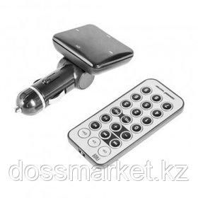 FM-модулятор Sound Wave FM09 + пульт ДУ, черный