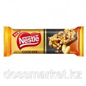 """Шоколадный батончик Nestle """"Good Mix"""", солнечный арахис, 33 гр"""