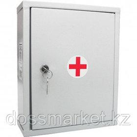 Аптечка первой помощи работникам, металлический шкаф