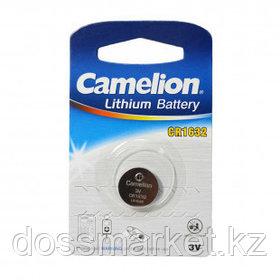Батарейки Camelion Lithium дисковые CR1632-BP1, 3V, 1 шт., цена за штуку