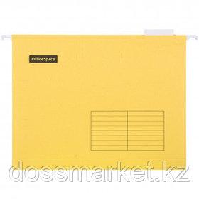 Папка подвесная OfficeSpace, А4 формат, желтая