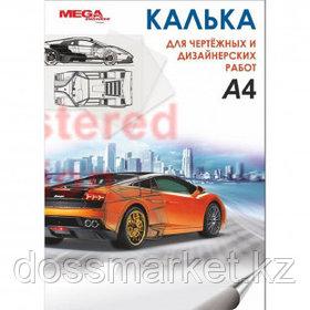Калька глянцевая MEGA Engineer, А4, 40 листов